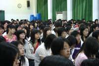 同學踴躍參與並認真聽講-北港校區