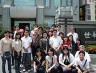 全體師生攝於世華生物科技公司