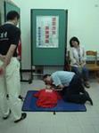CPR測驗前互相討論練習