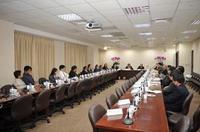 本院與美國安德森癌症中心專家進行會議