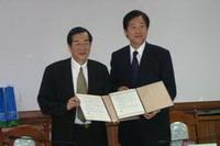 逢甲大學蒞校簽訂華語教學策略聯盟協議書