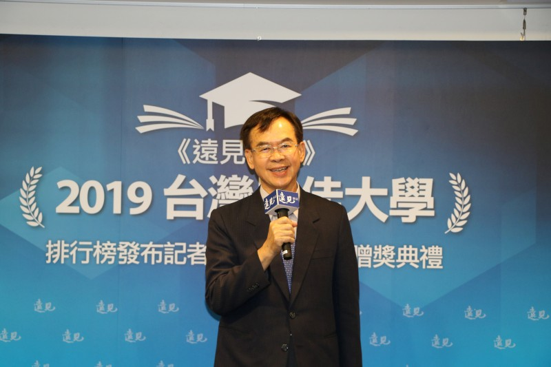 Vice-President Hung-Che Chiang in the Award Ceremony