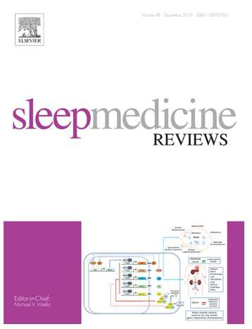 Top journal in the field of sleep medicine-Sleep Medicine Review