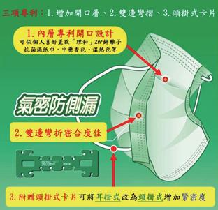"""""""Chinese Medicine Mask"""" invented by Dr. Lee"""